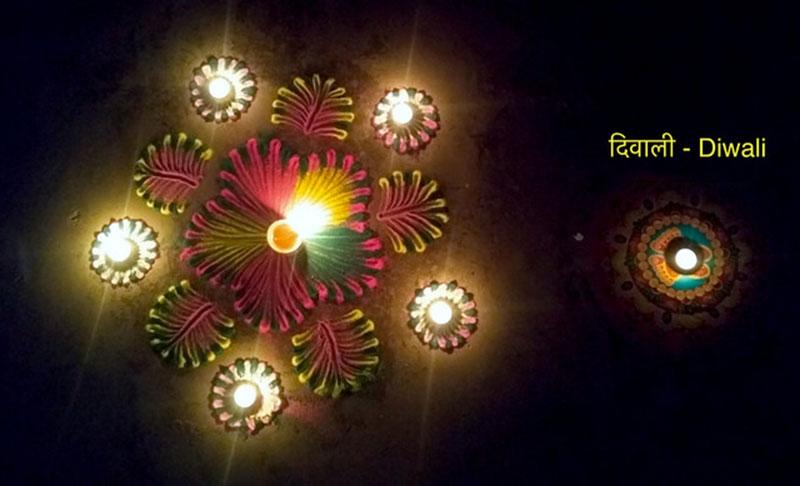 Diwali Celebrations By NRI's