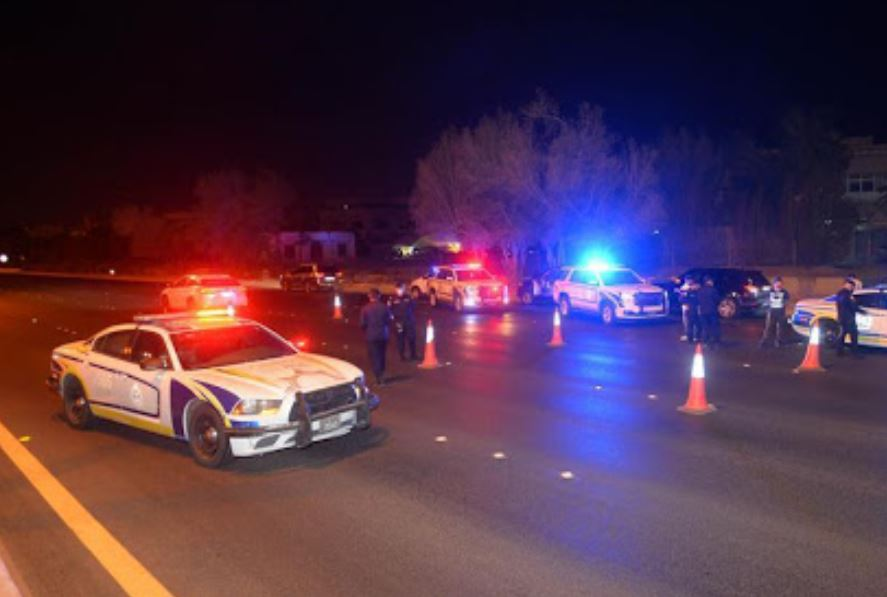 Security officer died in a run-over incident at check point
