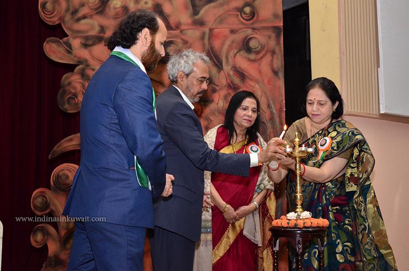 """Navratna"" - Writers Forum's Book released by Indian Ambassador"