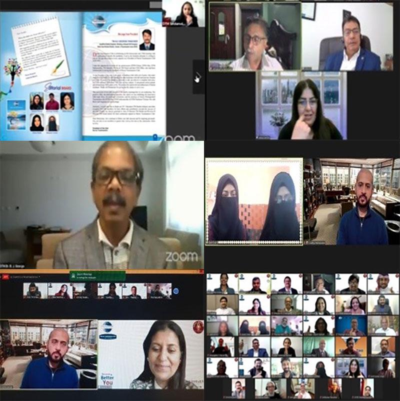 Durrar Toastmasters Club Celebrated Its 150th Milestone Meeting