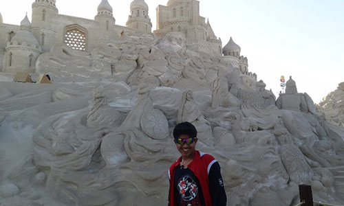 A mind blowing experience-Remal Sand Sculpting  Festival
