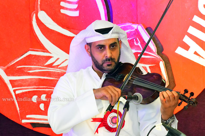 Kuwaiti Violinist Creates Waves among Indians through his Magical Strings