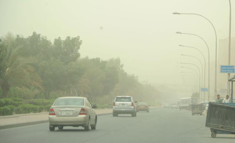 Unstable weather  in Kuwait to continue till  Monday  noon