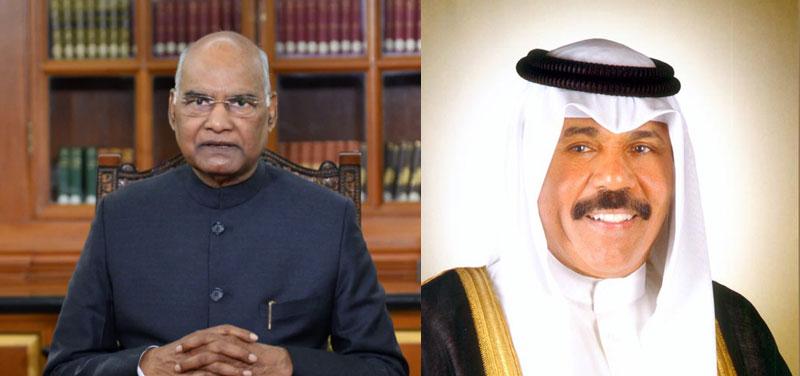 President Ram Nath Kovind congratulates Kuwait on National day