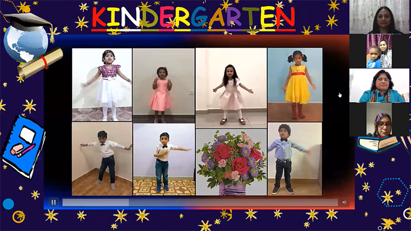Aspire Indian International School kindergarten orientation 2021