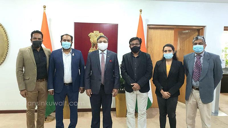 Future Eye Theatre Visited Indian Ambassador Sibi George