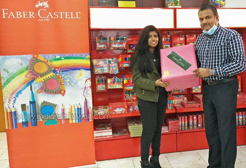 Winners of the Painting Contest received Prizes from FaberCastell and UHU