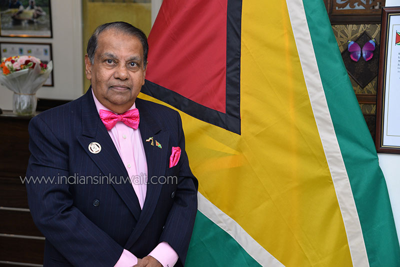 Professor Dr. Shamir Ally - An extra ordinary Ambassador of Guyana to Kuwait