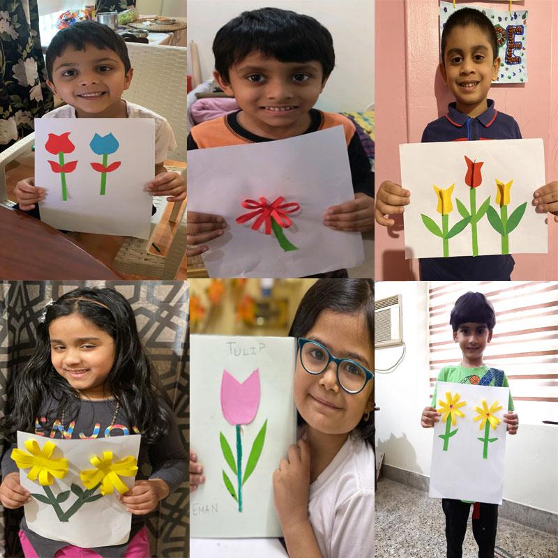 Winter winter go away, spring season is on its way, says little kindergarteners of Bhavans SIS