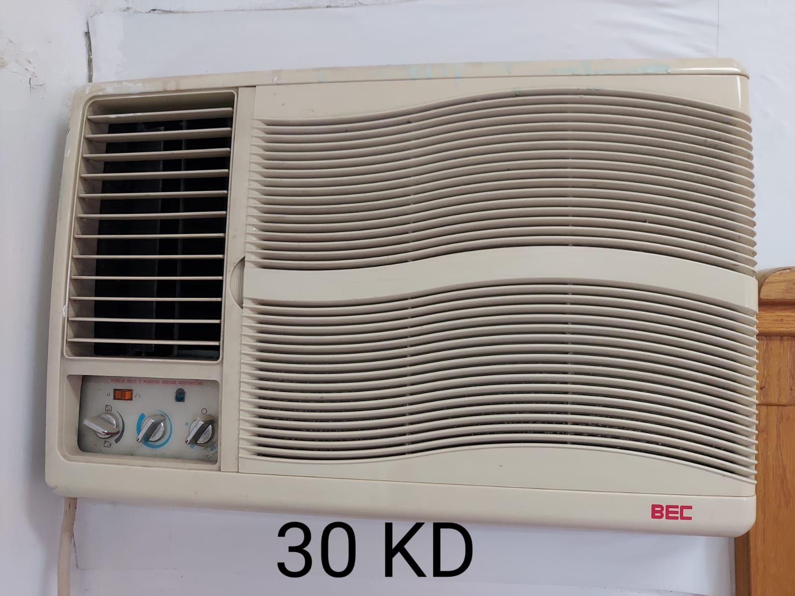 GENERAL AND BEC WINDOW AC
