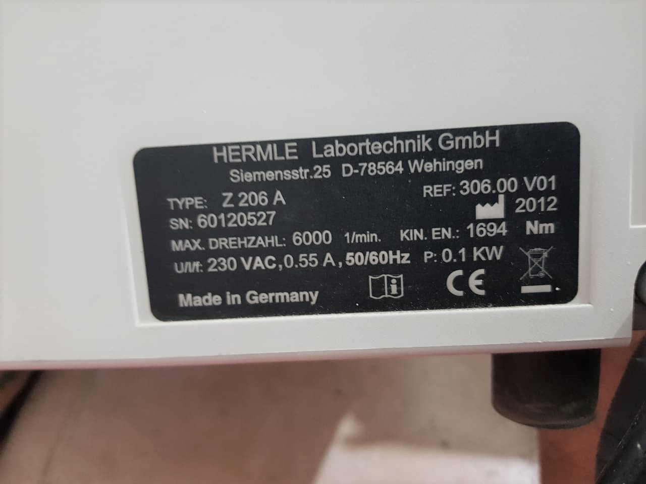 Used Centrifuge Available with good condition