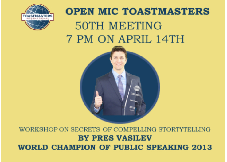 Toastmaster Event in Kuwait