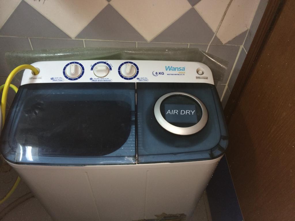 Wansa 6Kg-Semiautomatic Washing Machine.