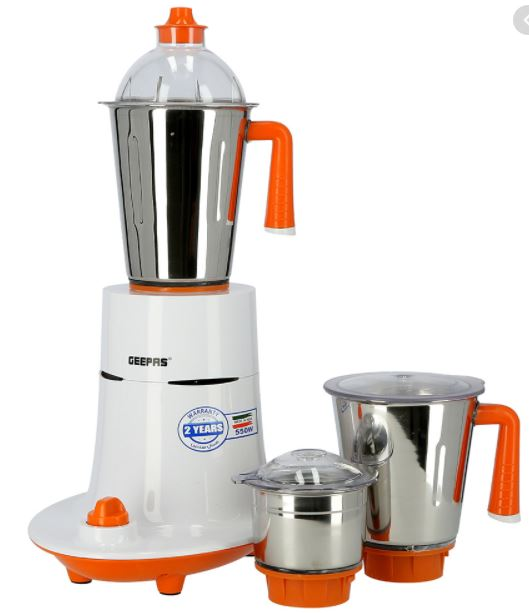 Geepas mixer grinder and samsung vacuum cleaner