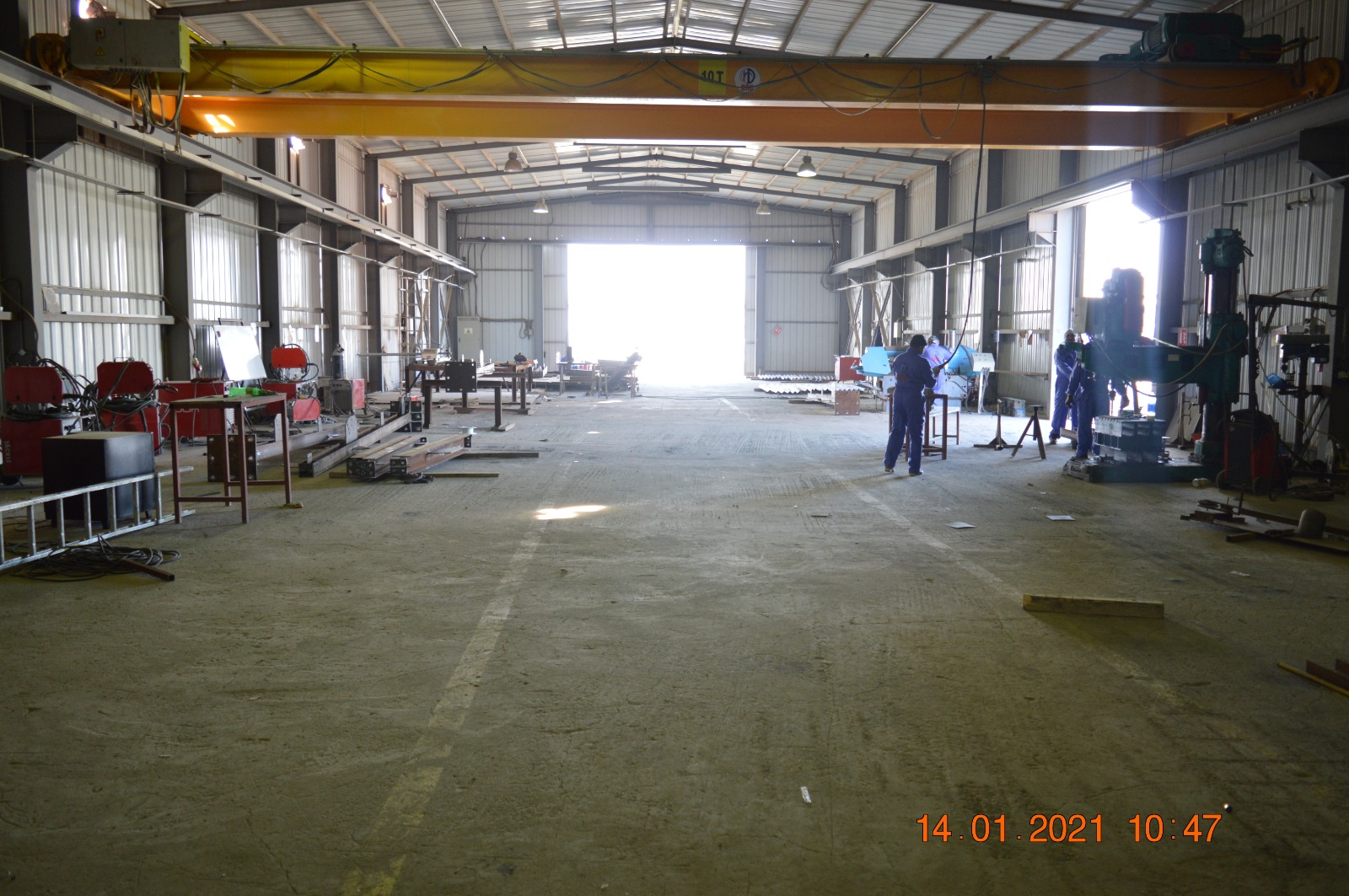 Metal Fabrication Workshop & Yard Facility available for Rent/Leasing in Julaiya
