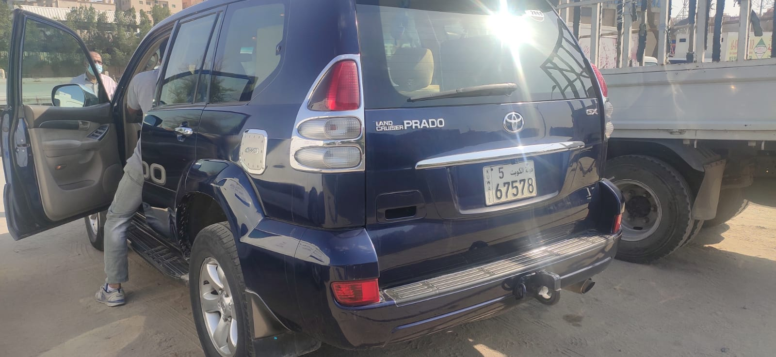 Well Maintained Toyota Prado Car for Sale
