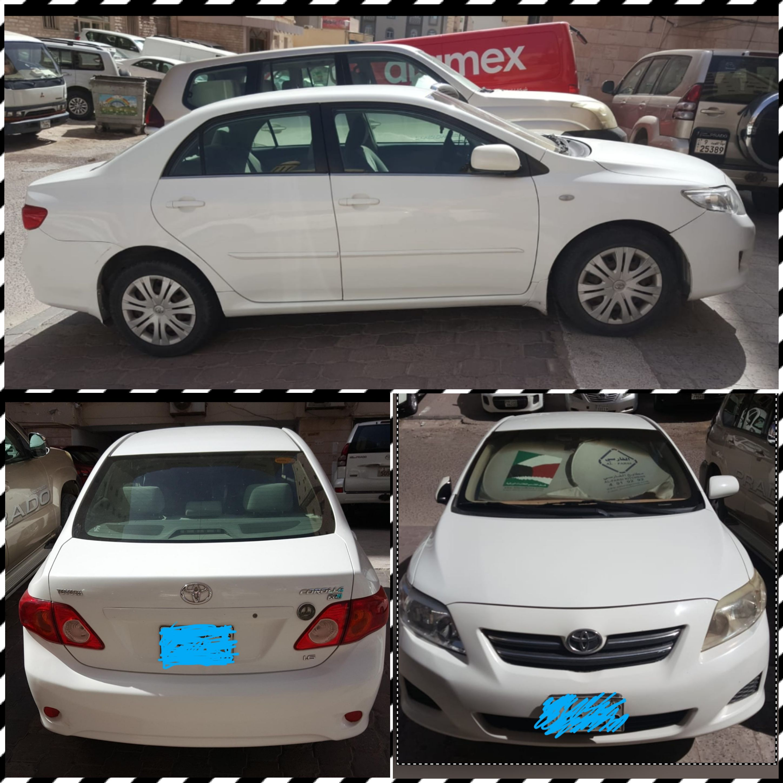 Toyota Corolla 1.6XLI /2009