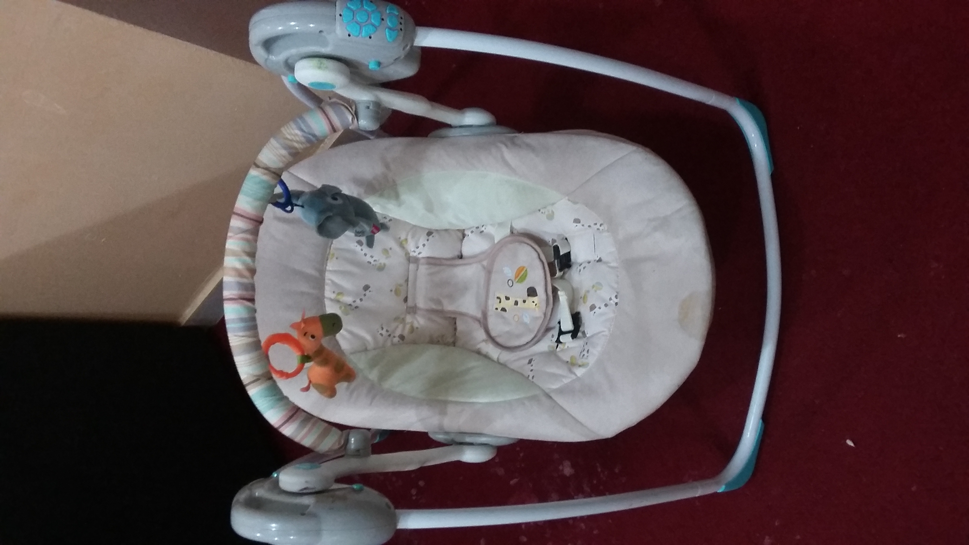 KIDS SWING AND INFANT CRADLE