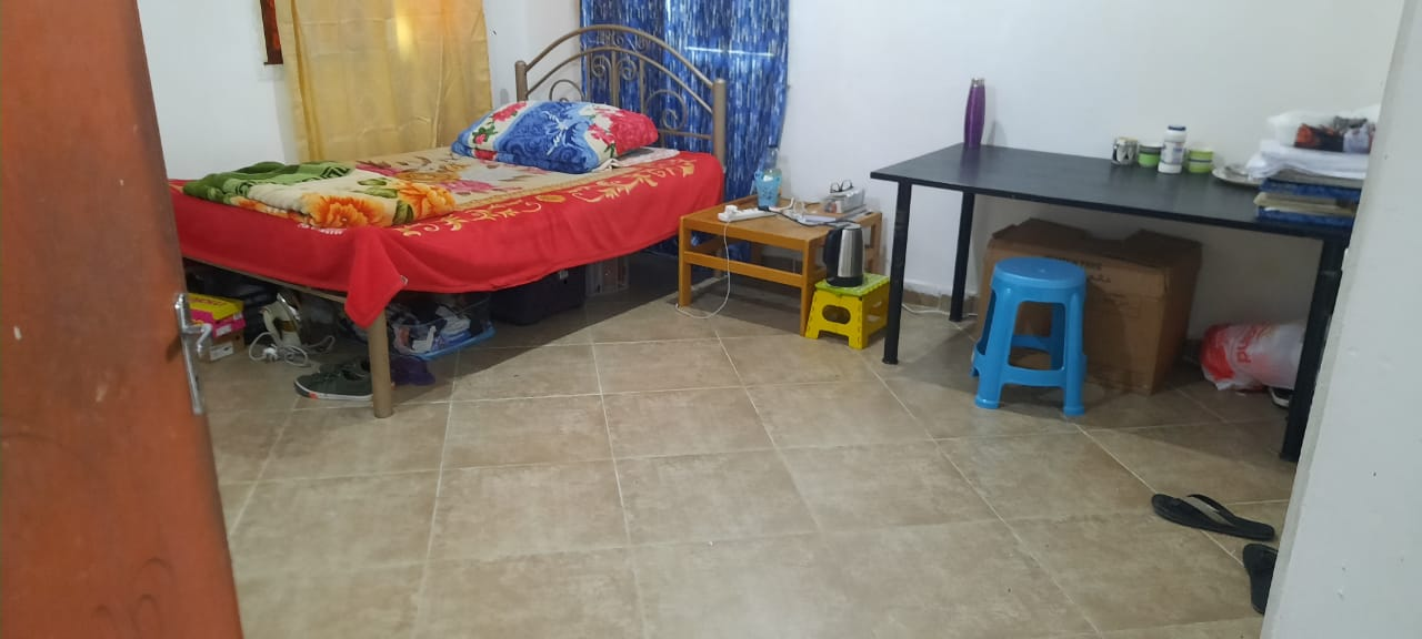 FULL ROOM WITH ATTACHED W/C READY TO OCCUPY FOR INDIAN BACHELOR/FAMILY IN SALMIYA BLK-9