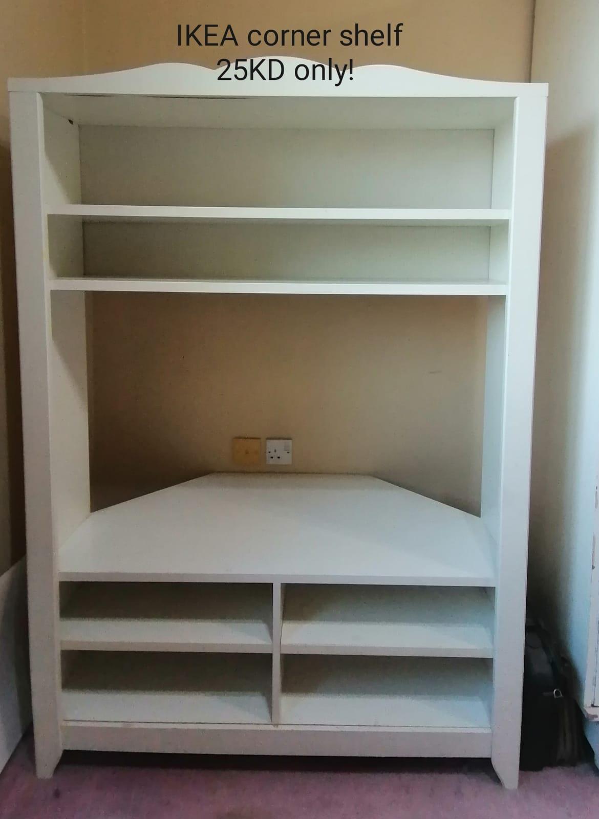 IKEA Corner Bookcase