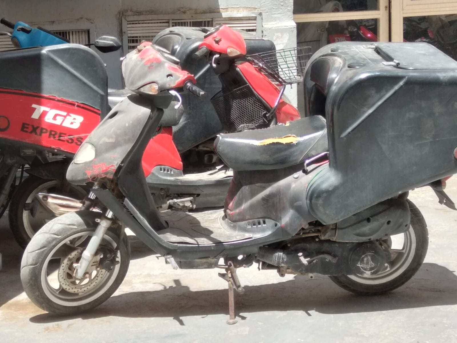 TGB delivery bike