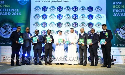IndiansinKuwait com - ASSE Kuwait Chapter recognizes ASSE GCC HSE