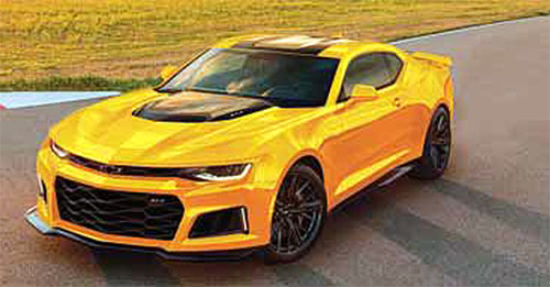 Chevrolet Middle East And Alghanim Automotive Held Kuwait S First Debut Of The 2017 Camaro Zl1 At Auto Moto