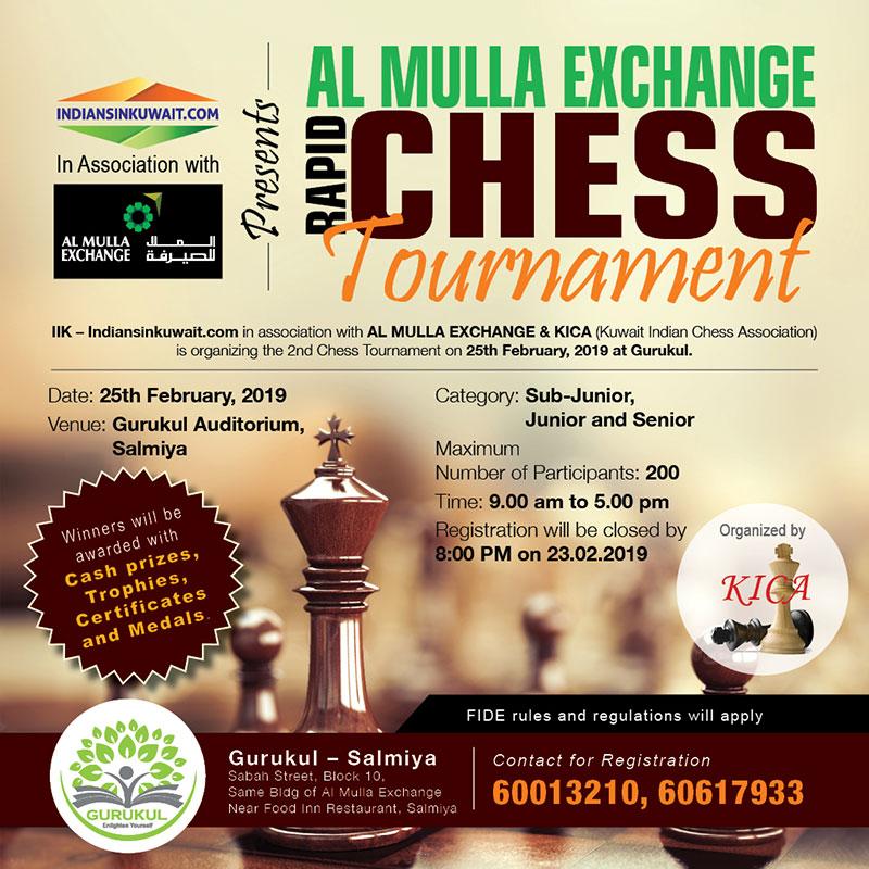 IndiansinKuwait com - Al Mulla Exchange organizing Rapid