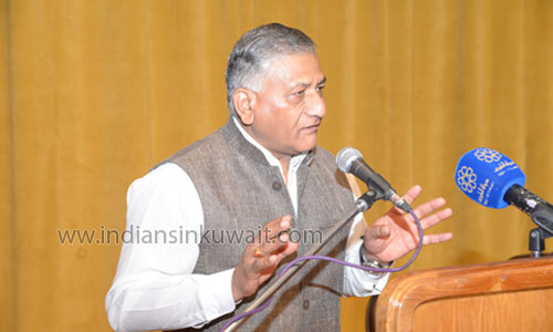 IndiansinKuwait com - Kharafi labor issues: Minister VK