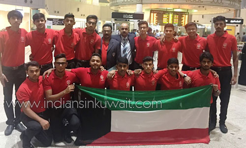selected cricket team