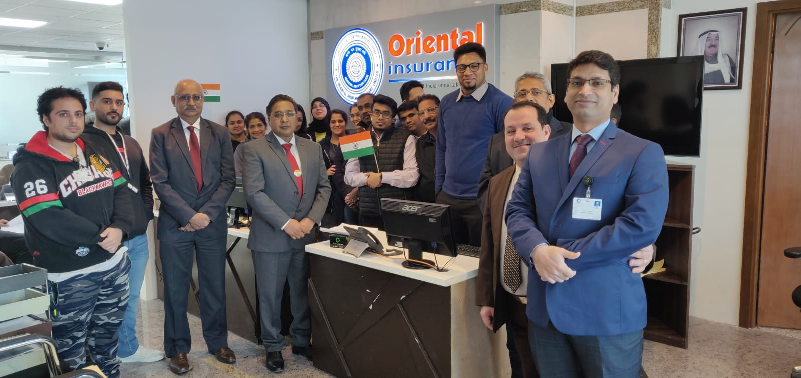 Oriental Insurance Company Kuwait Office Celebrated India S 71st