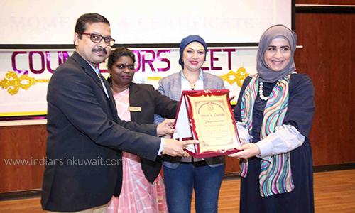 Principals Vital Part Of Special >> Indiansinkuwait Com Bhavans Smart Indian School Marks Kuwait S