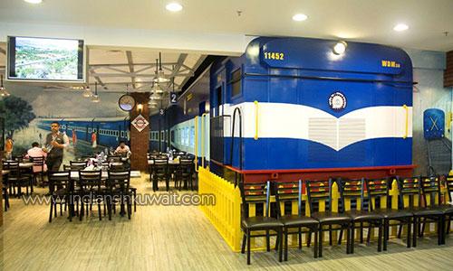 Indiansinkuwait A Nostalgic And Delicious Train Journey In Kuwait At Kerala Express Restaurant