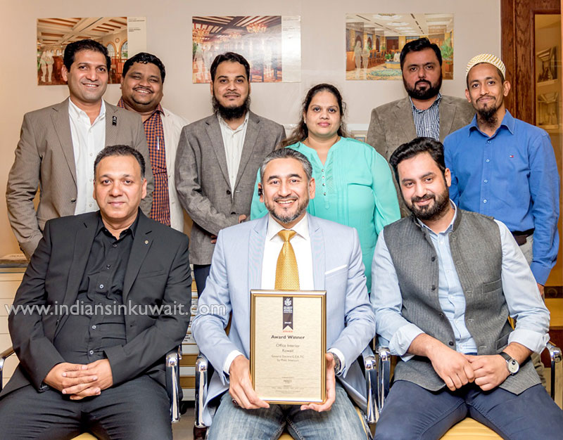 Kuwait Based Maks Interiors Won Best Office Interior Design Award At International Property Awards
