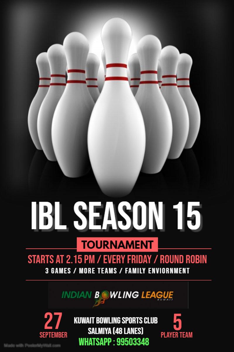 IndiansinKuwait com - Indian Bowling League Season 15