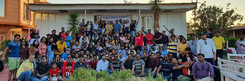 Kuwait Odisha Association (KOA) Conducted Winter 2019 Picnic
