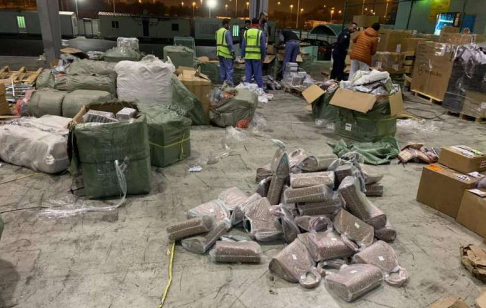 10 tons of counterfeit goods seized