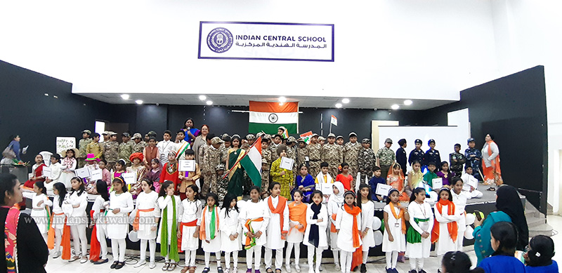 Indian Central School- Primary Wing Celebrated Republic Day in a Grand Way