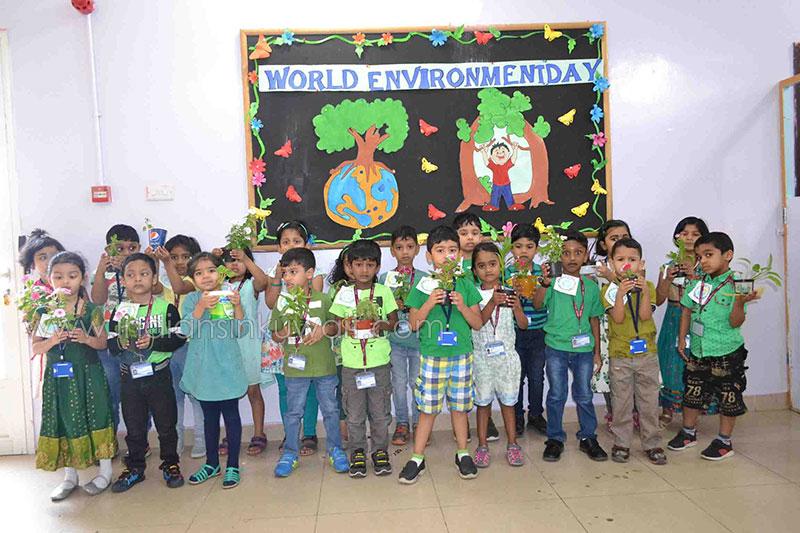 Bhavans Kindergarten Celebrates The World Environment Day