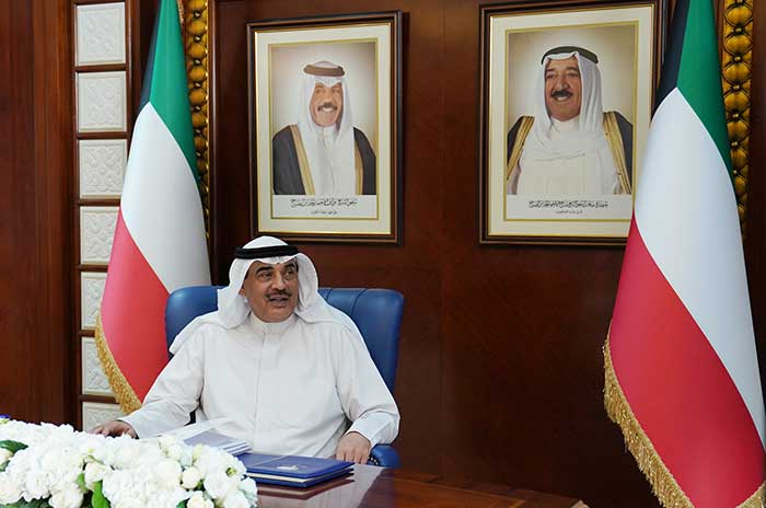 Kuwait cabinet holds its weekly meeting