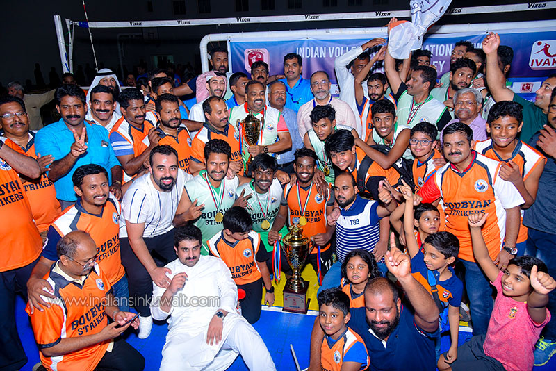 6th sefeena Jimmy George volleyball tournament trumpeted off successfully