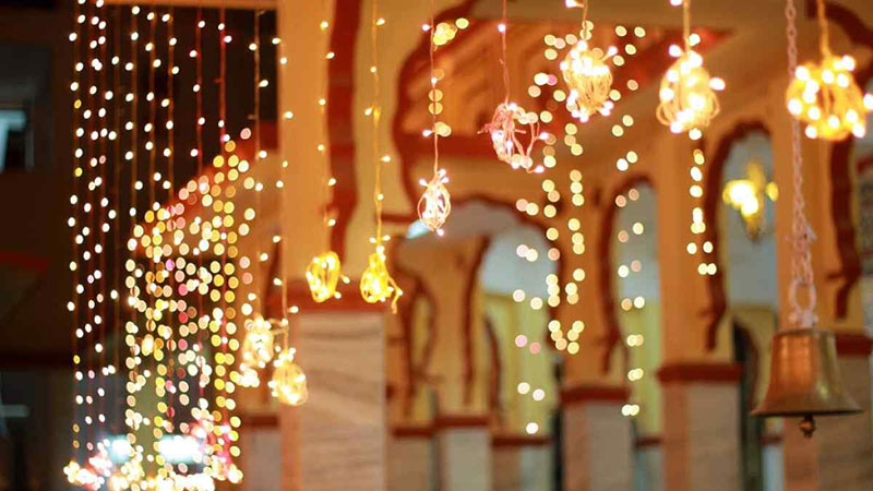 The Beauty of the Diwali Lights