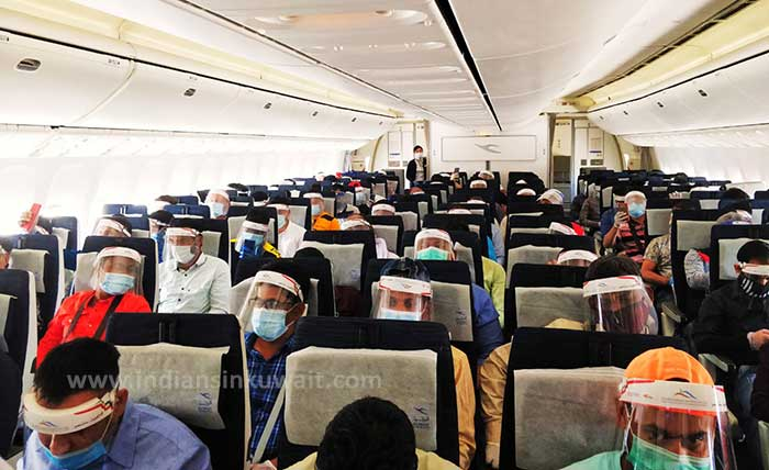 After days of waiting, first flight left to India from Kuwait today