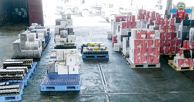 4600 bottles of liquor confiscated at Shuwaikh port