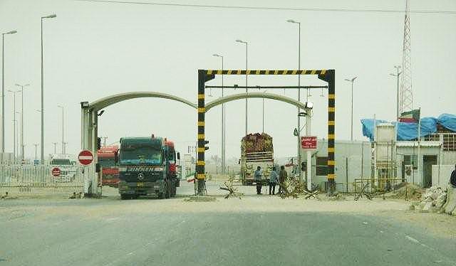 Kuwait  ban  travel to Iraq through Abdali