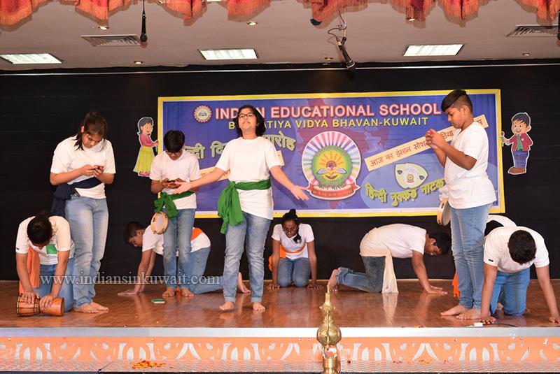 IES Celebrates Hindi Diwas With Gusto