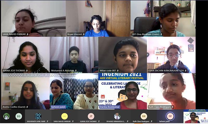 INGENIUM 2021-An Aspire Indian International School Virtual Literary Festival