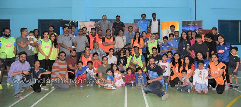 Hurricanes Blow Away Challengers and Avengers in IDAK – KDD Badminton Tournament