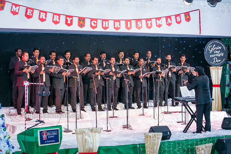 Gloria In Excelsis Deo-by Men's Voice and Choral Society-Kuwait Staged their 19th Annual Christmas Carols