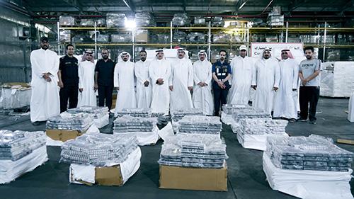 Customs seizes 10 mln drug pills  at Shuwaikh Port